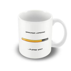 Sarcasm loading… – Printed mug