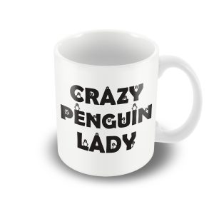 Crazy Penguin Lady! – Printed mug