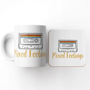 Mixed Feelings-Mug and Coaster Set