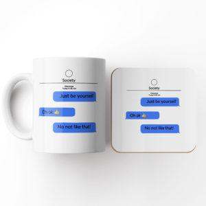 Society-Mug and Coaster Set