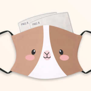 Cute Goat – Child Face Masks – 2 Filters Included