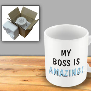 My boss is amazing – Printed Mug