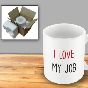 I love my job – Printed Mug