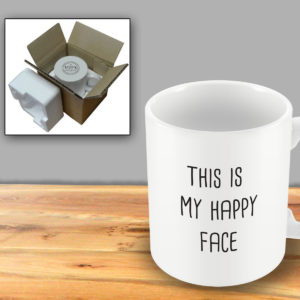 This is my happy face – Printed Mug