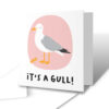 It's A Gull! New Baby Greetings Card