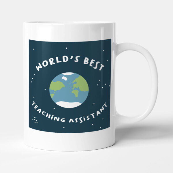 World's Best Teaching Assistant Teacher Gift Mug