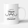 I Want To Thrive Not Just Survive Travel Gift Mug