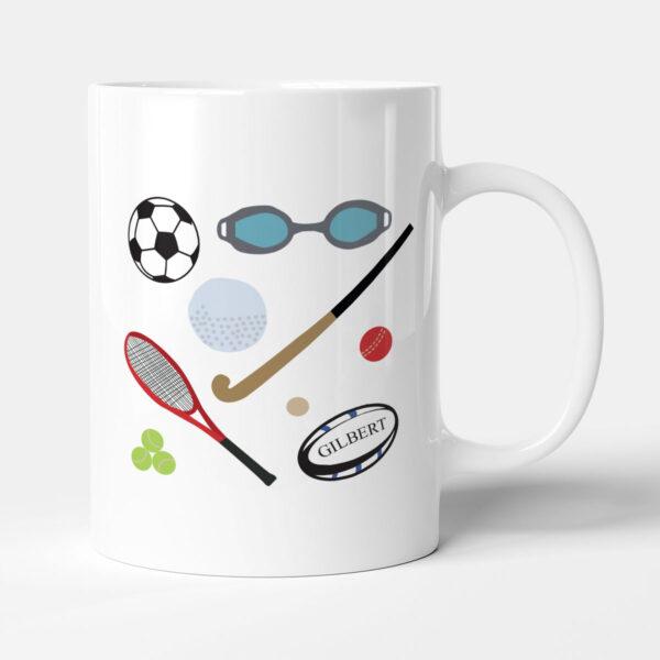 Let's Get Physical Sports Gift Mug