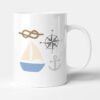 Messing About In Boats - Sailing Gift Mug