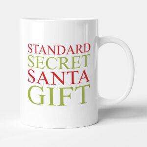 Standard Secret Santa Christmas Gift Mug