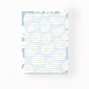 egg-cellent thoughts for a cracking day to do list notepad