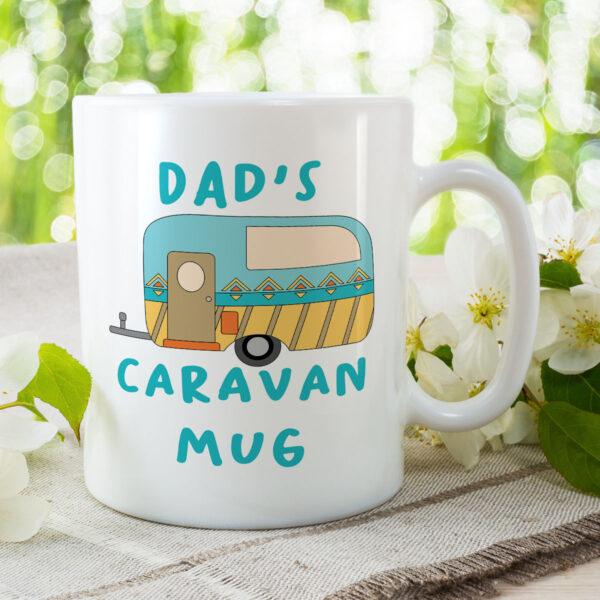 Dad's Caravan Mug - Birthday Gift Mug
