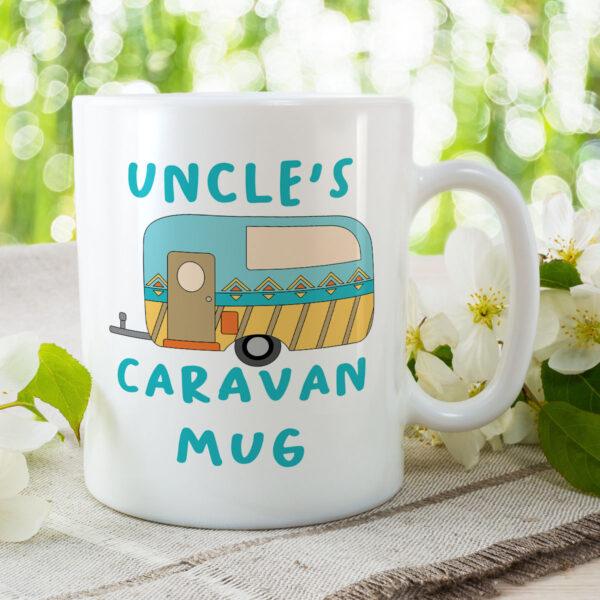 Uncle's Caravan Mug - Birthday Gift Mug