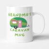 Grandma's Caravan Mug - Green Camper Birthday Gift Mug
