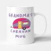 Grandma's Caravan Mug - Purple Camper Birthday Gift Mug