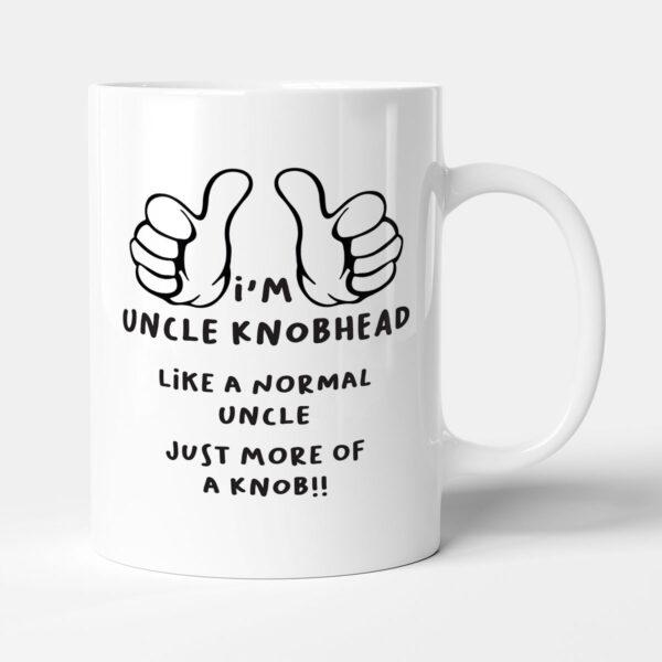 I'm Uncle Kn*bhead - Uncle Birthday Gift Mug
