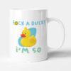 F*ck A Duck, I'm 50 - Funny Birthday Gift Mug