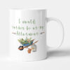 I Would Rather Be At My Allotment - Gardening Birthday Gift Mug