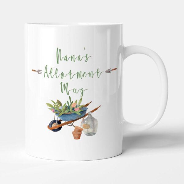 Nana's Allotment Mug - Gardening Birthday Gift Mug