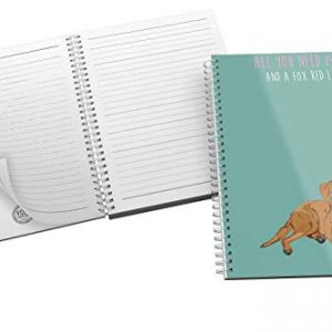 All You Need is Love.and a Fox red Labrador – Original Illustration – Notebook