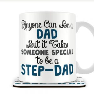 It Takes Someone Special to be a Step-Dad – Mug and Coaster Set