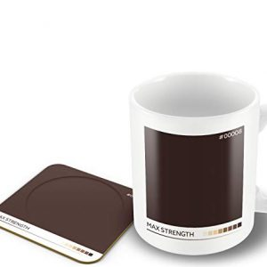 Max Strength' Tea Colour Scale – Mug & Coaster