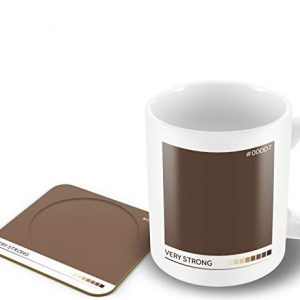 Very Strong' – Tea Colour Scale – Mug & Coaster