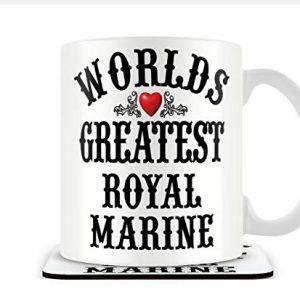 World's Greatest Royal Marine – Mug & Coaster